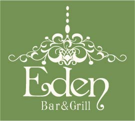 Logo for Eden Bar and Grill